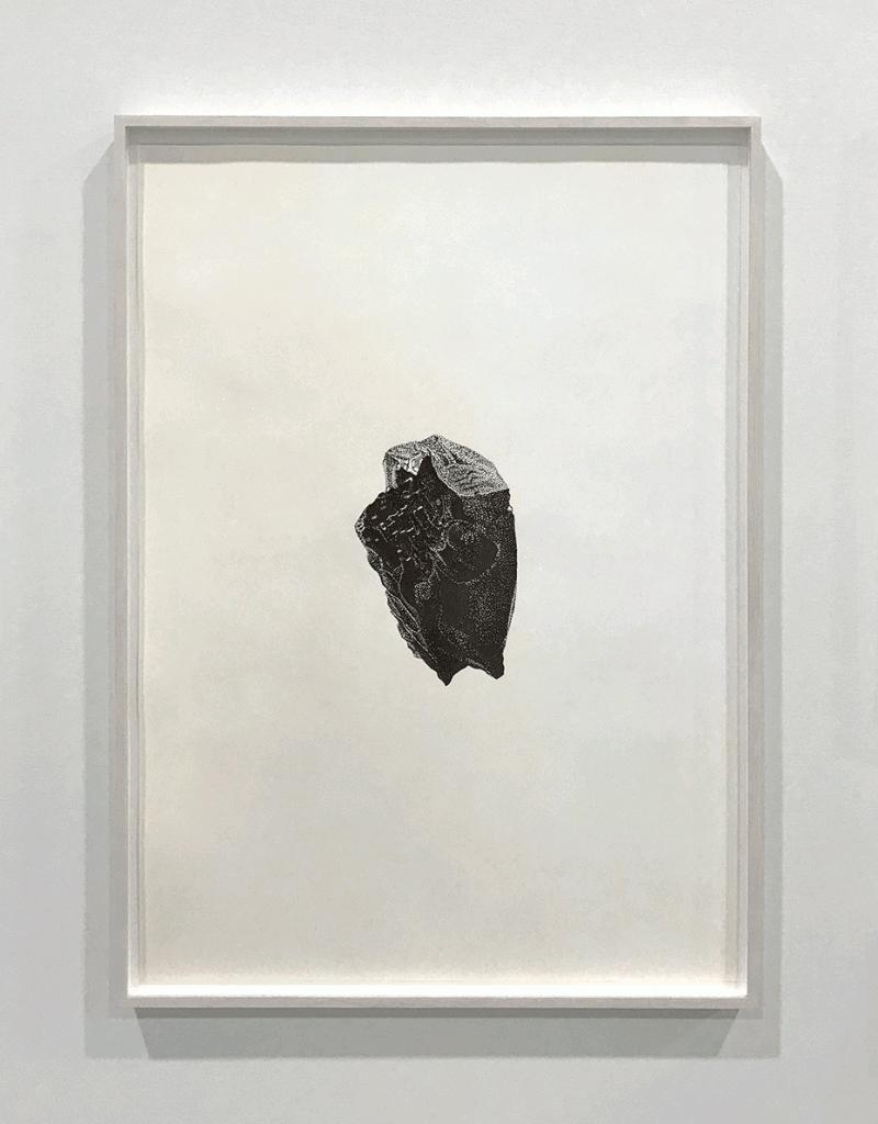 Roche 4. 50x65cm - Feutre noir 850€